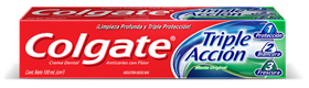 Colgate<sup>®</sup> Triple Acción Menta Original