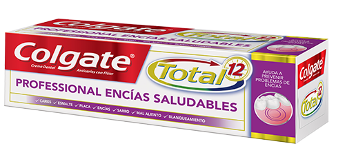 Crema Dental Colgate<sup>&reg;</sup> Total 12 Professional Enc&#x00ED;as Saludables